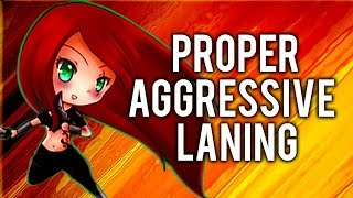 Katlife | PROPER AGGRESSIVE LANING WITH KATARINA - FULL INFORMATIVE COMMENTARY GAMEPLAY GUIDE