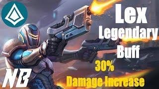 Paladins  OB 62 Lex Legendary Buff 30% More Damage!