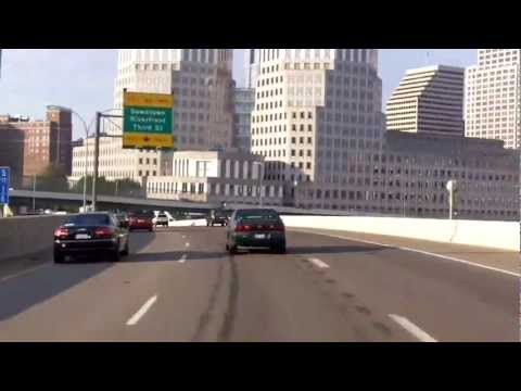 Driving South Through Cincinnati, Ohio