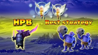 CLASH OF CLANS |  TOWNHALL 9  BEST ATTACK STRATEGY!!!! | HPB (HEALERS+PEKKAS+BOWLERS)