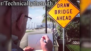 r/Technicallythetruth | he's drawing it...