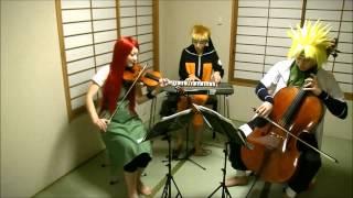 【ナルトリオ】NARUTO疾風伝サントラをうずまき一家で演奏してみた【NARUTORIO】NARUTO Shippuden Soundtrack thumbnail