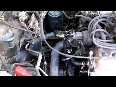 1994-1997 honda accord upper and lower radiator hose replacement - youtube