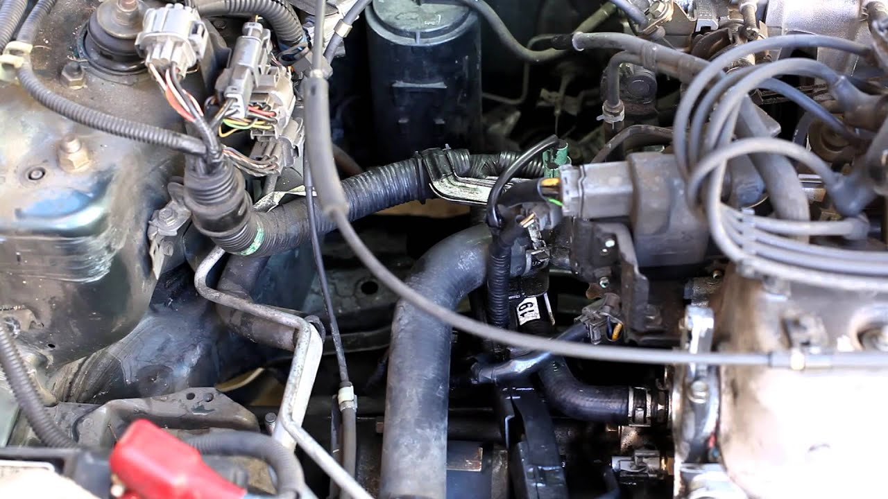 19941997 Honda Accord upper and lower radiator hose replacement  YouTube