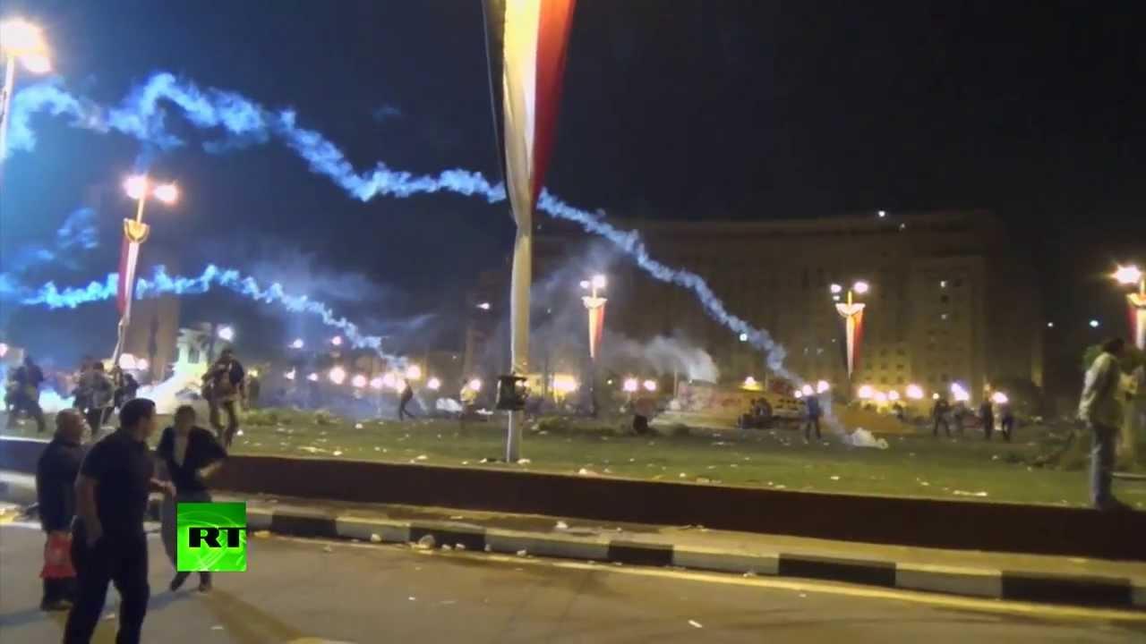 Митинги в память о жертвах протестов 2011 года в Каире привели к новым столкновениям