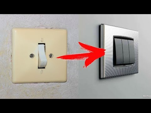 Как сделать двухкнопочный/трехкнопочный выключатель из одинарного