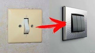 как сделать из одного выключателя два видео в одно