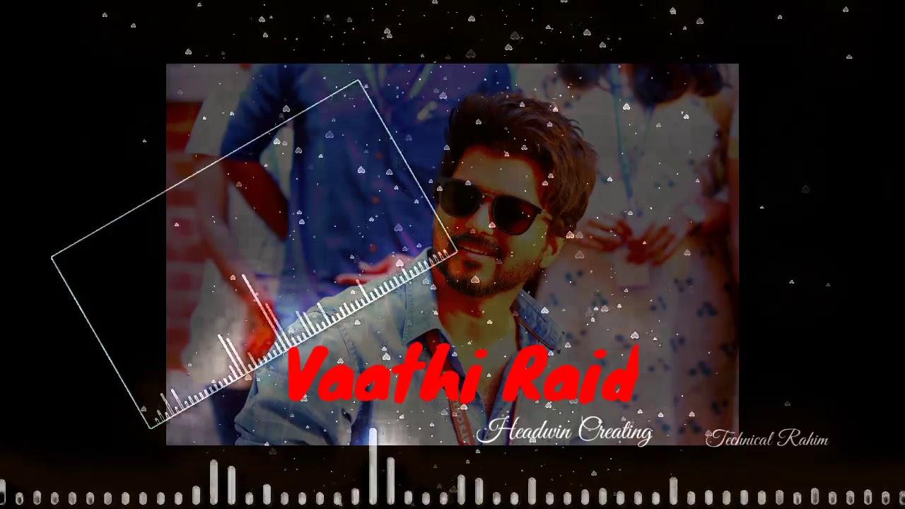 vaathi raid whats app status master song youtube