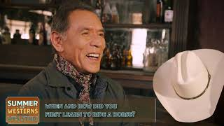 Wes Studi On Learning To Ride A Horse - HDNET MOVIES