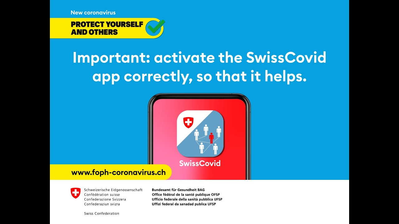 Swisscovid App And Contact Tracing