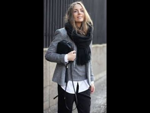 [VIDEO] - Trendy work outfits for winter 2018 2019 2