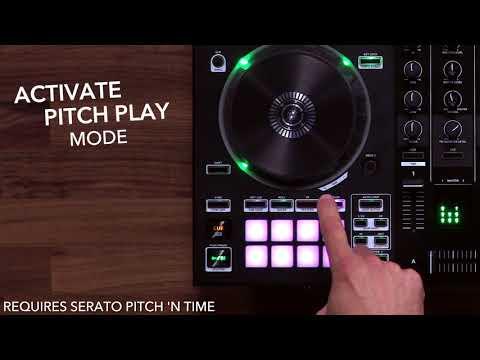 Roland DJ-505 2-deck Serato DJ Controller with Drum Machine