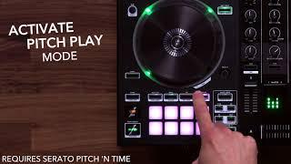 Roland DJ-505: Pitch Play