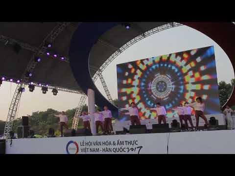[1ST PRIZE] BURNING DIAMOND in Korea & Vietnam Food Culture Festival 2017.