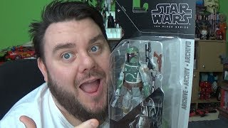 Star Wars Black Series Archive Boba Fett Action Figure Unboxing Hasbro Toy Review