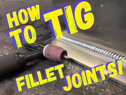 TIG WELDING HOW TO - TIG WELDING FOR BEGINNERS - FILLET WELDING A TEE JOINT WELD!