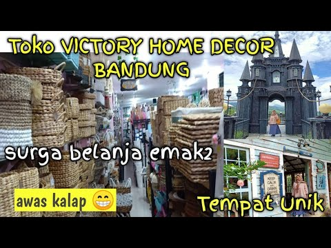 Visit Toko Victory Homedecor Bandung Awas Kalap Dan Tempat Unik Di Bandung Youtube