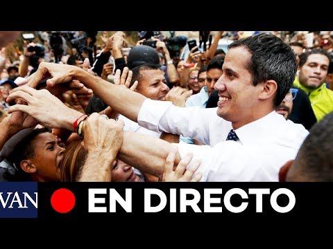 [EN DIRECTO] Juan Guaidó denuncia la falta de servicios públicos en Venezuela