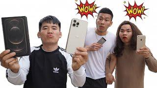 Hưng Troll   Bị Bạn Gái Khinh Thường Thách Thức Mua Iphone 12 Pro Max 256G 37 Triệu Và Cái Kết