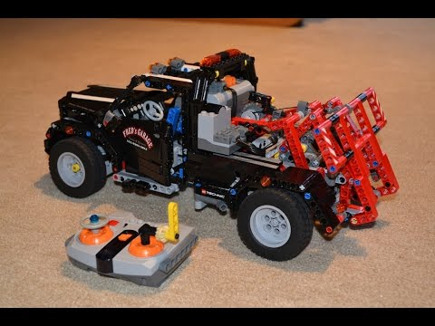 lego technic 8285 tow truck doovi. Black Bedroom Furniture Sets. Home Design Ideas