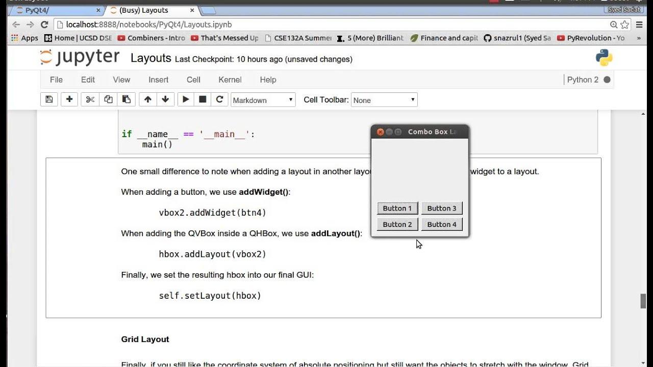 Qt based GUI on Python (PyQt) - Syed Sadat Nazrul - Medium