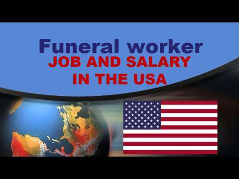 Funeral Worker Salary In The United States - Jobs And Wages In The United States