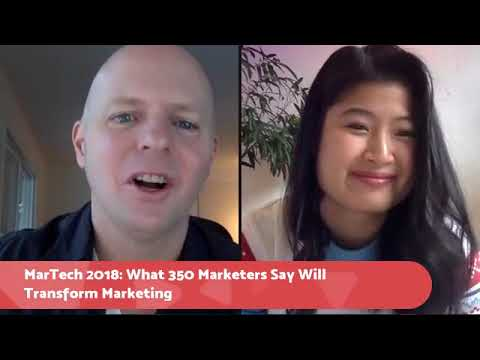 Marketing Technology 2018: 350 Marketers, CEOs, And Influencers Predict The Future