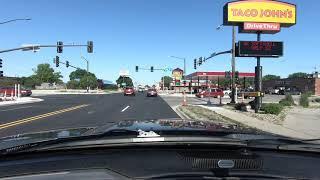 Driving around Ames, Iowa