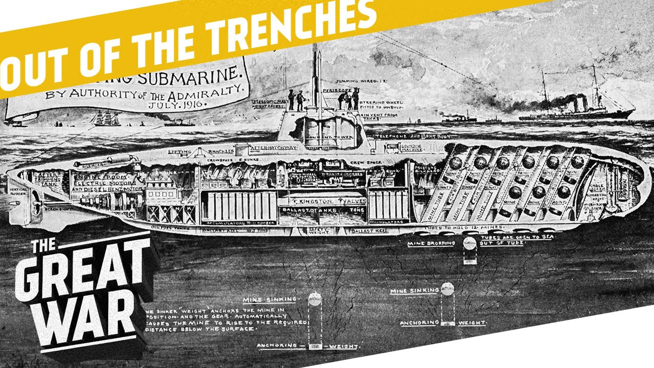 Download How Did Submarine Warfare Change During World War 1? I OUT OF THE TRENCHES