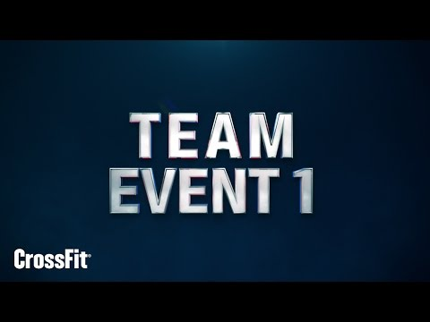 2015 Regionals: Team Event 1 Announcement