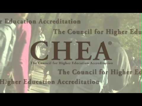 The Council for Higher Education Accreditation (CHEA)