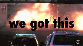 an explosion in NYC
