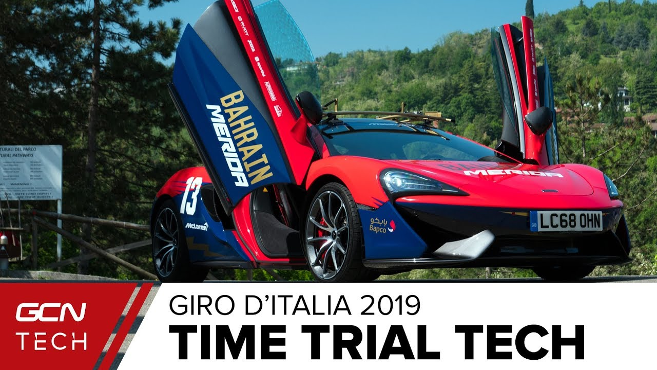Cool New Time Trial Tech From The Giro d'Italia 2019