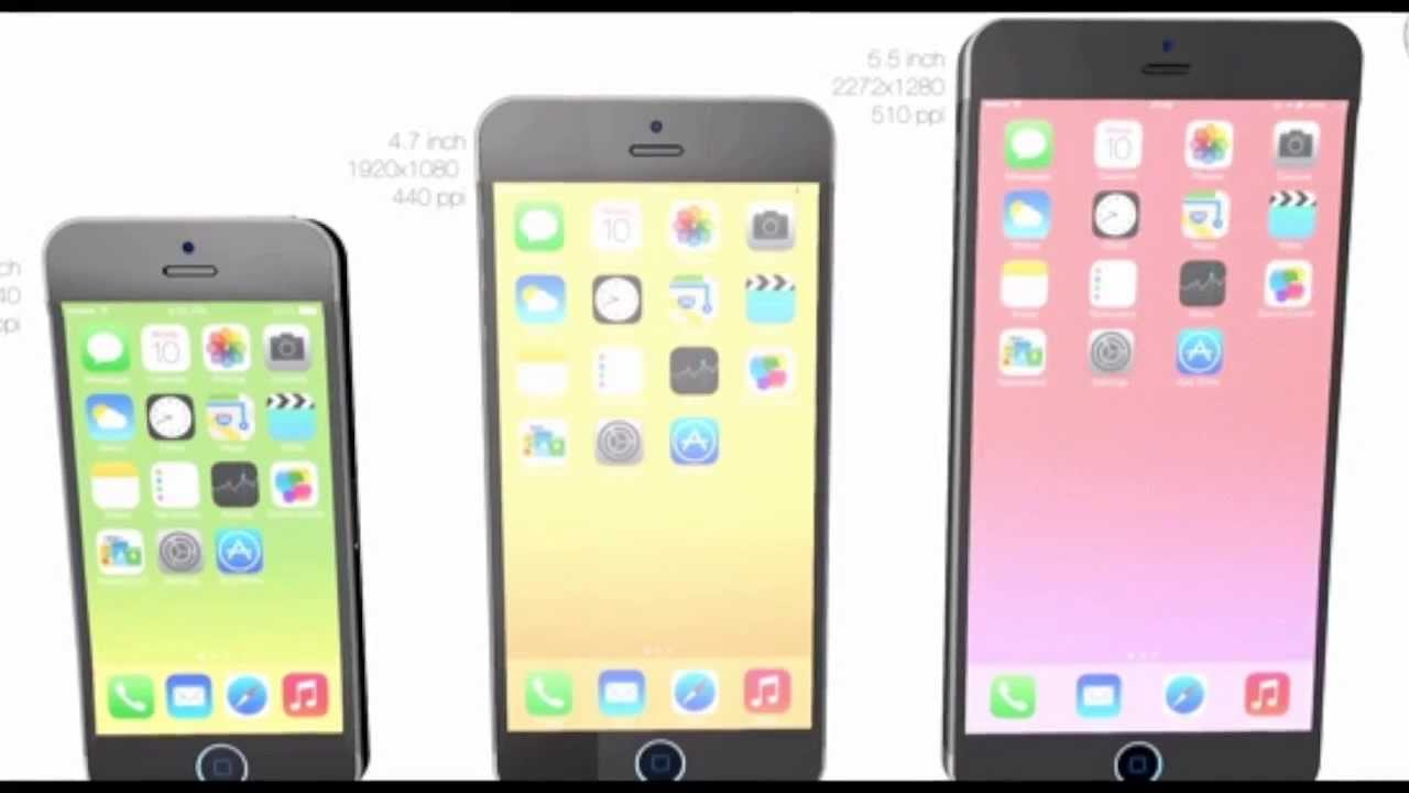 """New """"iPhone 6 AIR""""Concept Rumors Update February 2014 ..."""