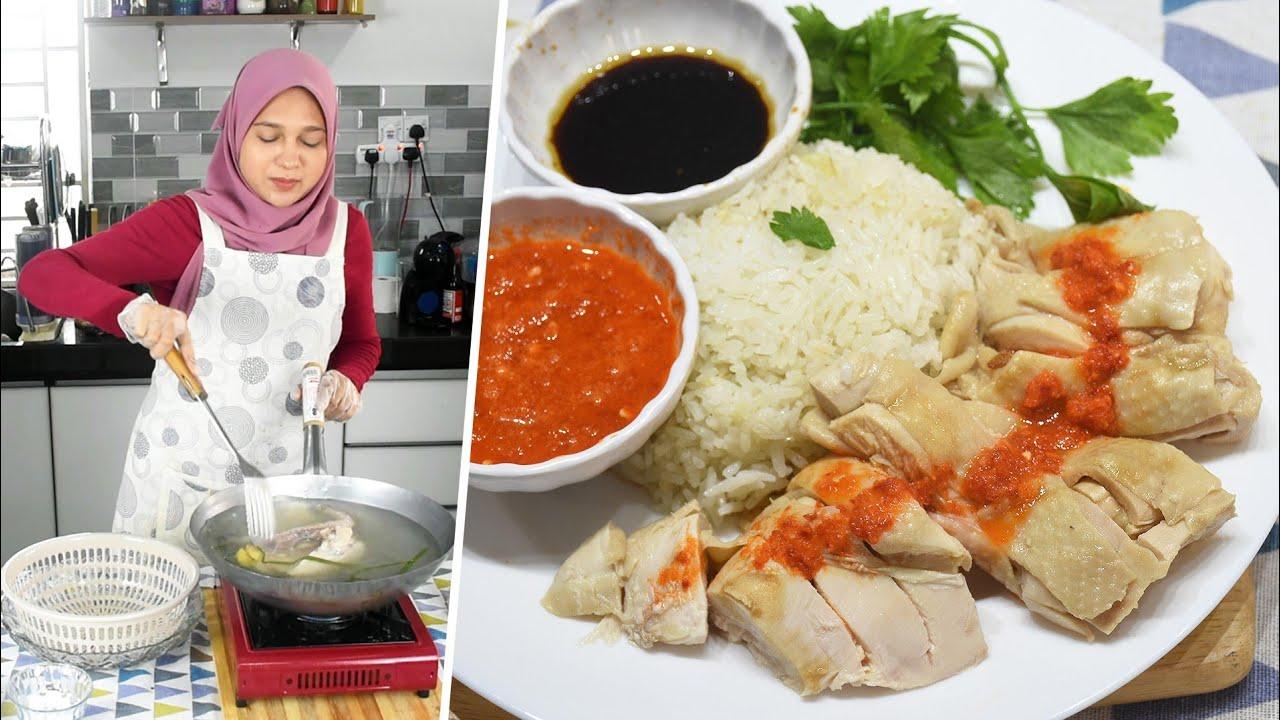 Cooking Show Resepi Nasi Ayam Hainan Dan Tips Ayam Lembut Dan Juicy Hainanese Chicken Rice Youtube