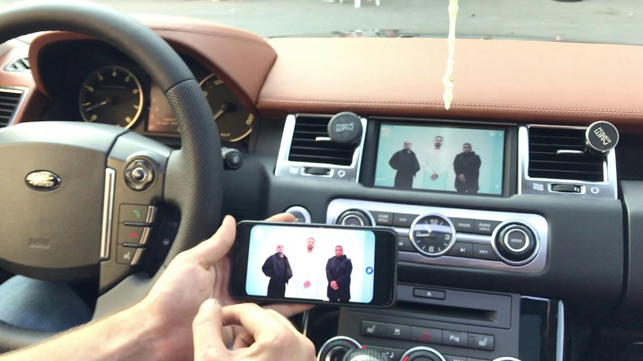 Range Rover Supercharged Mirrorlink (Ekran Yansıtma) ve Arka Multimedya Paketi