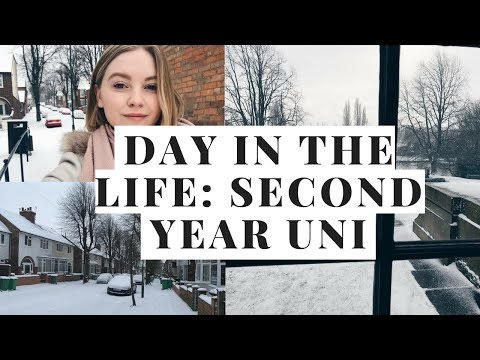 DAY IN THE LIFE OF A SECOND YEAR UNI STUDENT - NOTTINGHAM