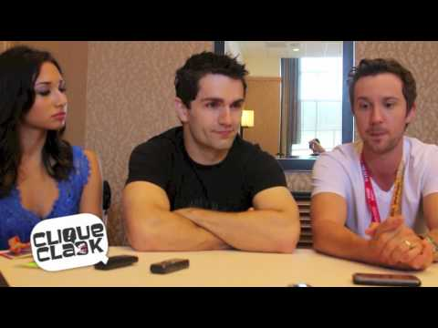 Being Human's Sam Witwer, Meaghan Rath & Sam Huntington @ 2012 SDCC