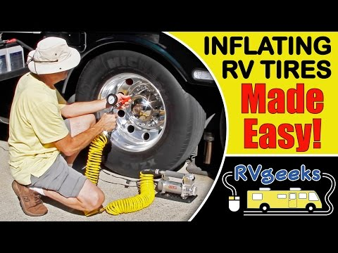 How To Inflate RV Tires The Easy Way
