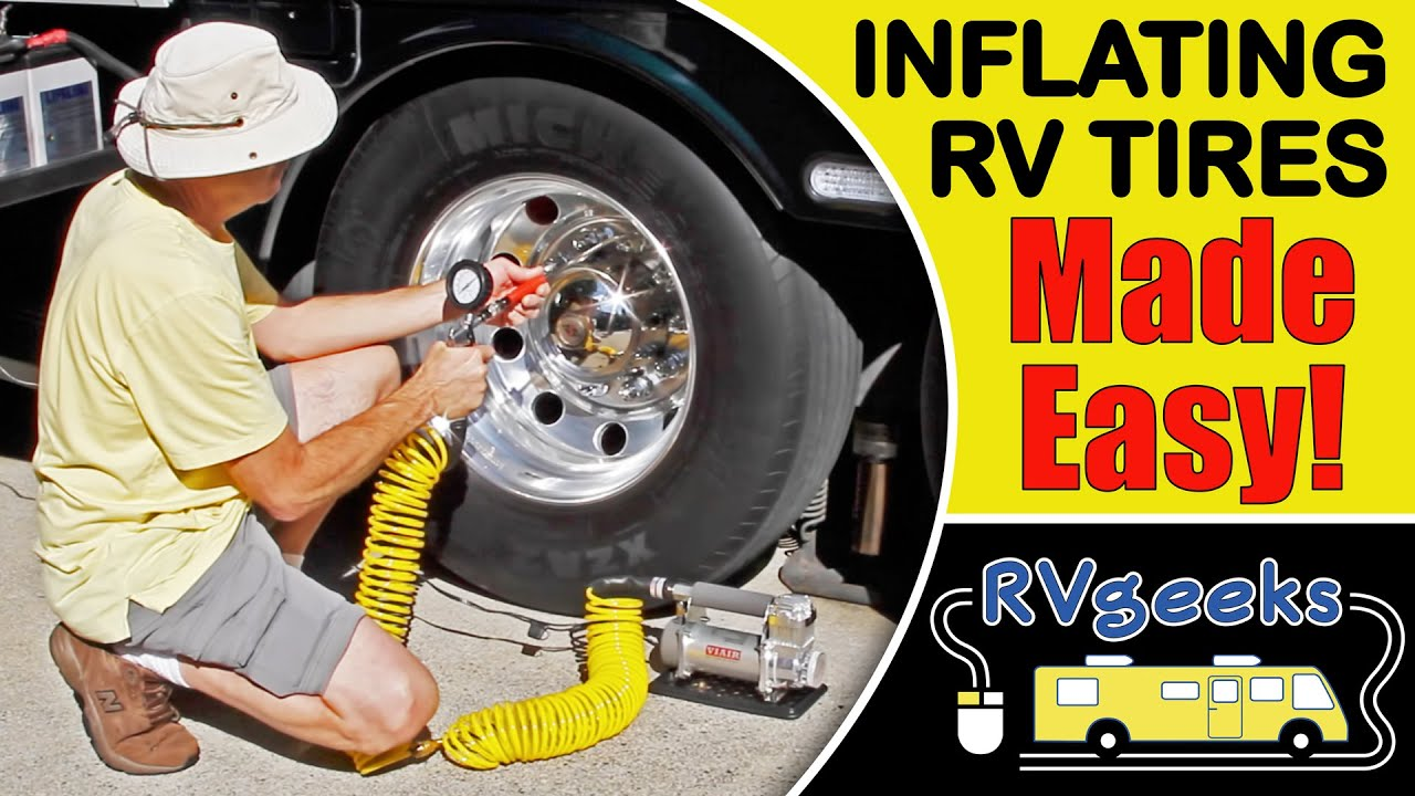 How To Inflate Rv Tires The Easy Way Youtube