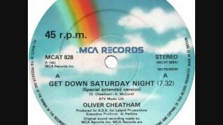 "Oliver Cheatham - Get Down Saturday Night (Dj ""S"" Bootleg Extended Dance Re-Mix)"