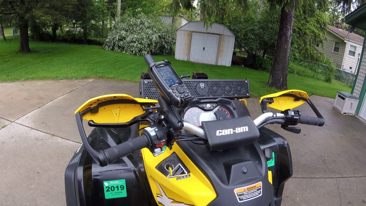 Canam Outlander 1000 XMR Max with Accessories