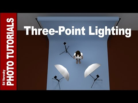 Three-Point Lighting for Portrait Photography - YouTube