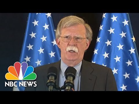 "John Bolton Warns Syria: U.S. ""Will Respond Strongly"" If Chemical Weapons Used In Idlib 
