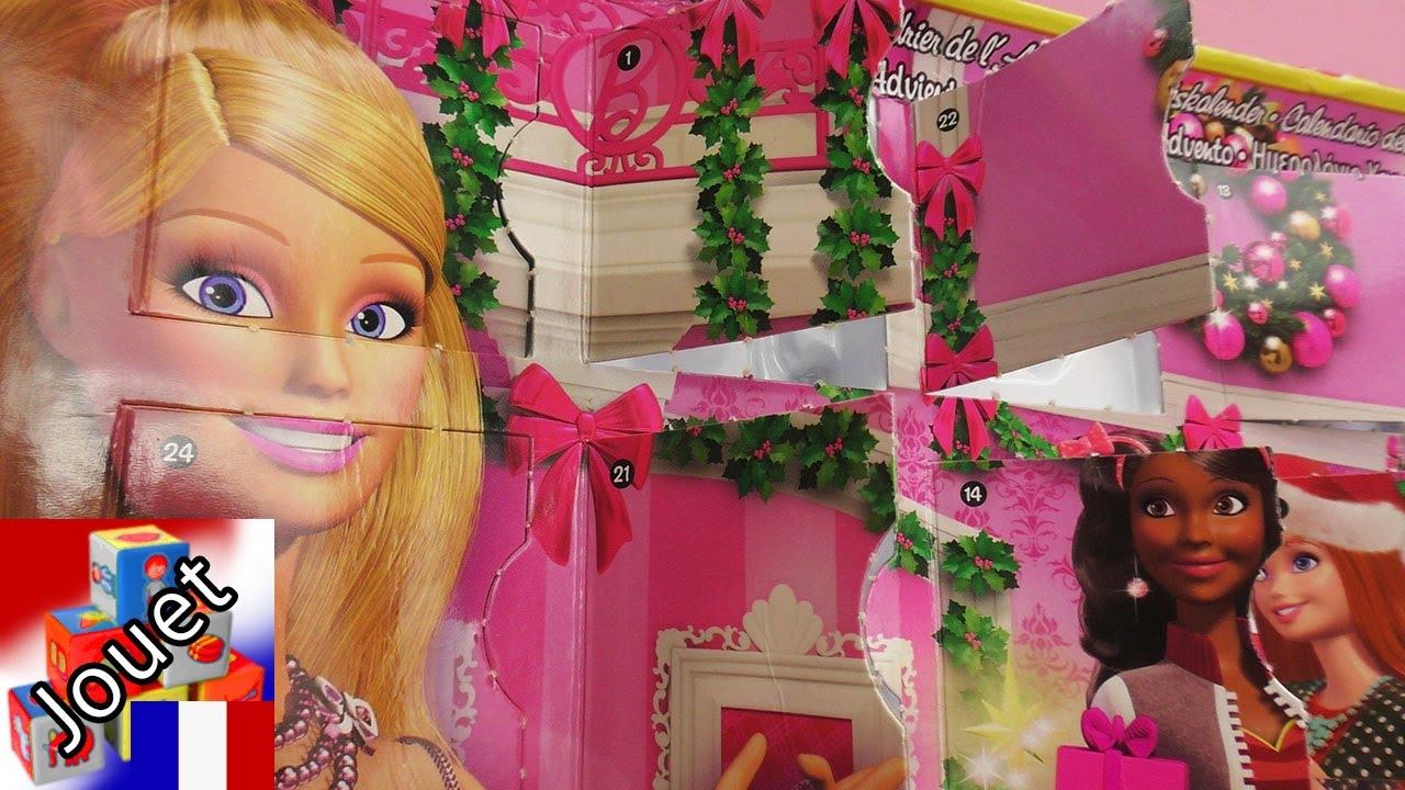 Calendrier Avent Barbie.Le Calendrier De L Avent Barbie 2015 On Ouvre Toutes Les Petites Portes