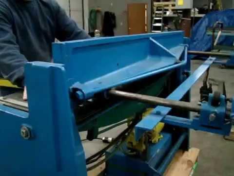 Used Tennsmith Hydraulic Sheet Metal Shear Model T 52
