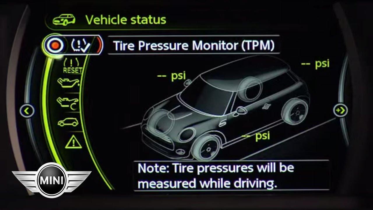 Mini Usa Mini Connected Visual Boost Tire Pressure Monitor