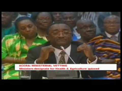 Ghana: Ministers designate for health, Agric quizzed