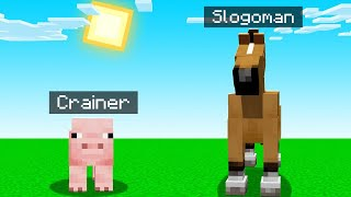 Minecraft BUT We Are ANIMALS! (weird)