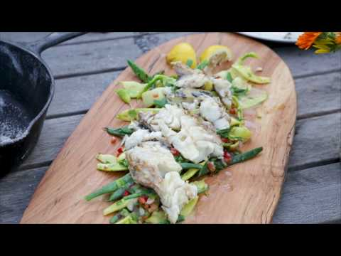 American Rivers Tour 2017 - Cooking with fire: Salt Roasted Fish